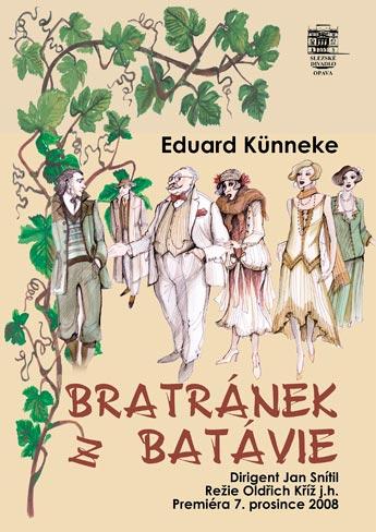 Eduard Kunnecke - BRATRÁNEK Z BATÁVIE - plakát