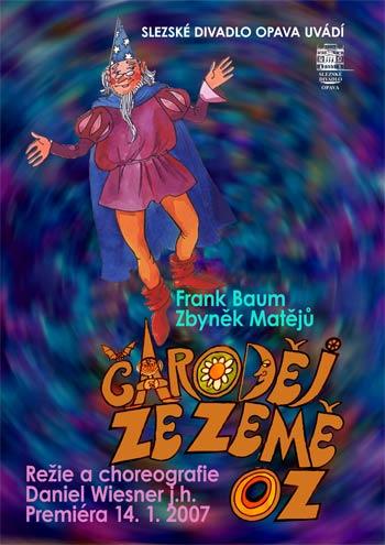 Čaroděj ze země OZ - plakát