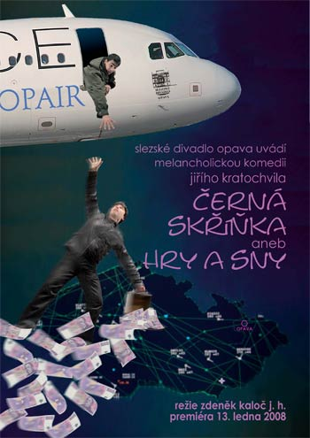 Jiří Kratochvil -Černá skřínka - plakát