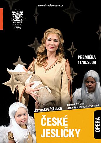 Jaroslav Křička – ČESKÉ JESLIČKY - plakát