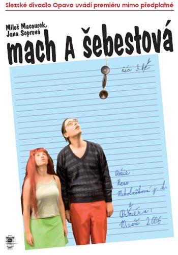 Mach a Šebestova - plakát