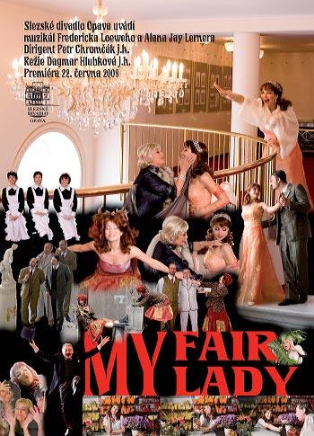 Frederick Loewe, Alan Jay Lerner – My Fair Lady - plakát