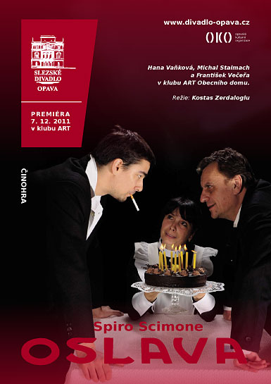 Spiro Scimone - OSLAVA  - plakát