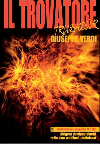 Trubadúr - plakát