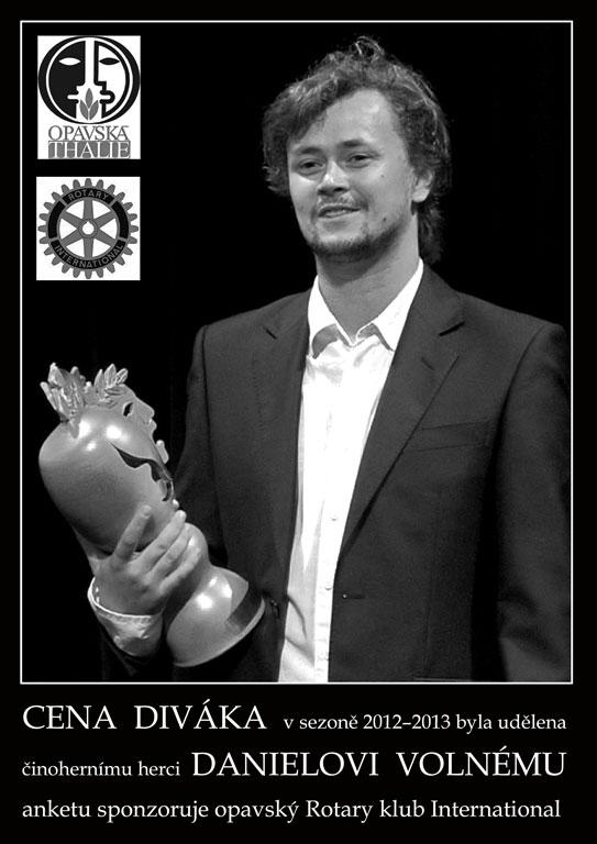 Cena divaka 2012-2013, Daniel Volný