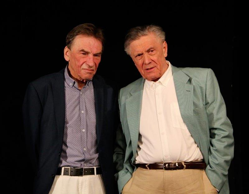 Herecké duo Kostka a Němec - PAN HALPERN A PAN JOHNSON