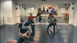 Pozdravy baletního souboru - ACTIONMAN