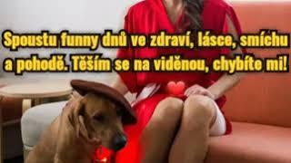 Pozdrav činoherní herečky Terezy Bartošové